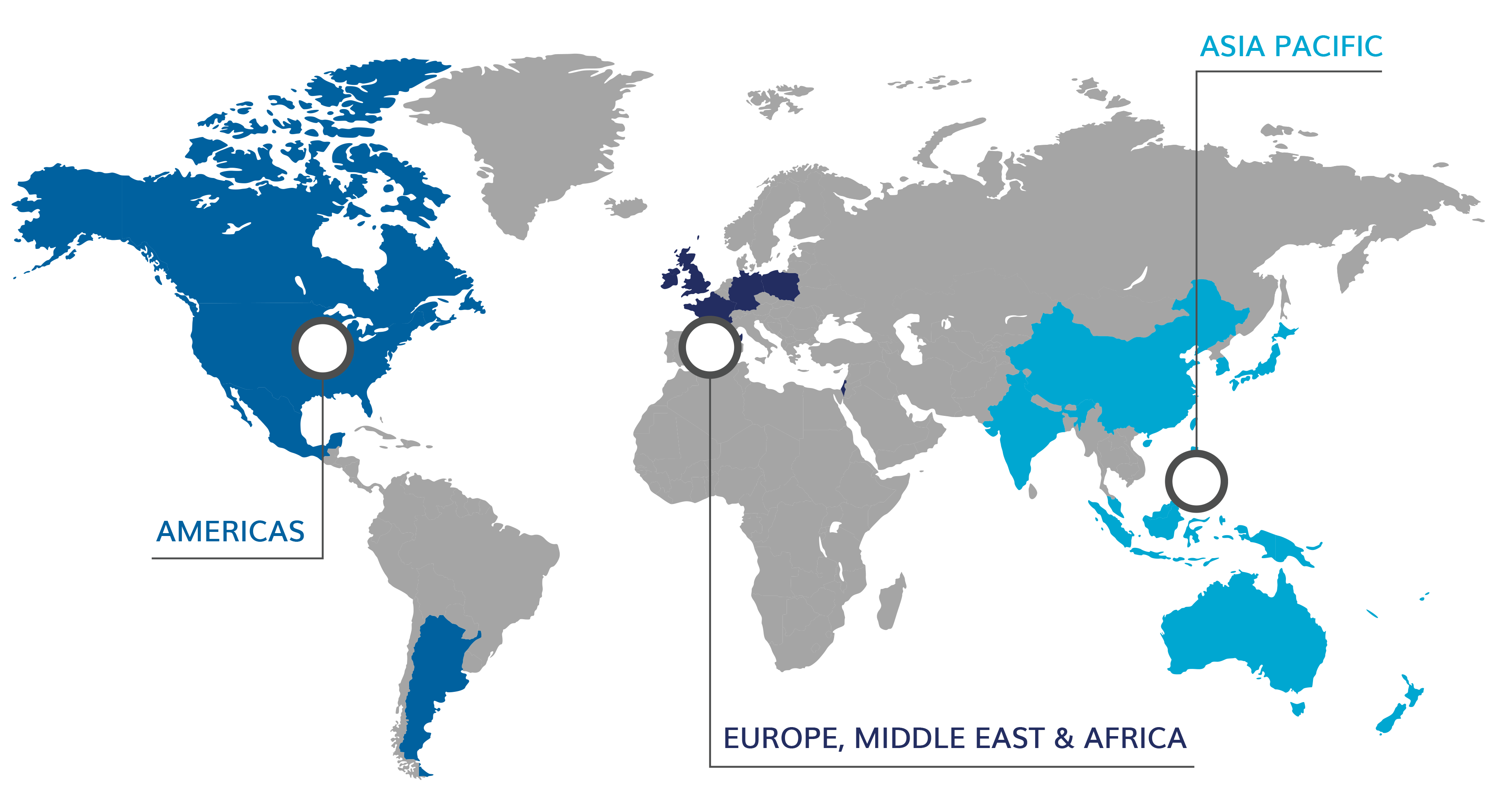 Wesco Aircraft locations across the globe