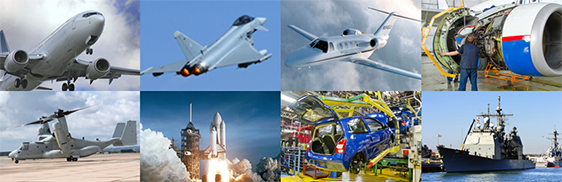 With one of the world's broadest portfolios: from aerospace, to defense to pharmaceuticals, Wesco Aircraft is always working to improve our customer's and supplier's profitability.